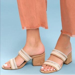 matisse bonita leather mules sandals